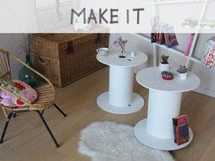 Diy fabriquer une table partir de lames de parquet - Fabriquer une table basse design ...