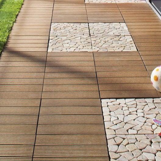 Dalle terrasse caillebotis terrasse bois terrasse for Parquet composite exterieur