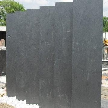Panneau ardoise plein, l.200 x H.50 cm, noir