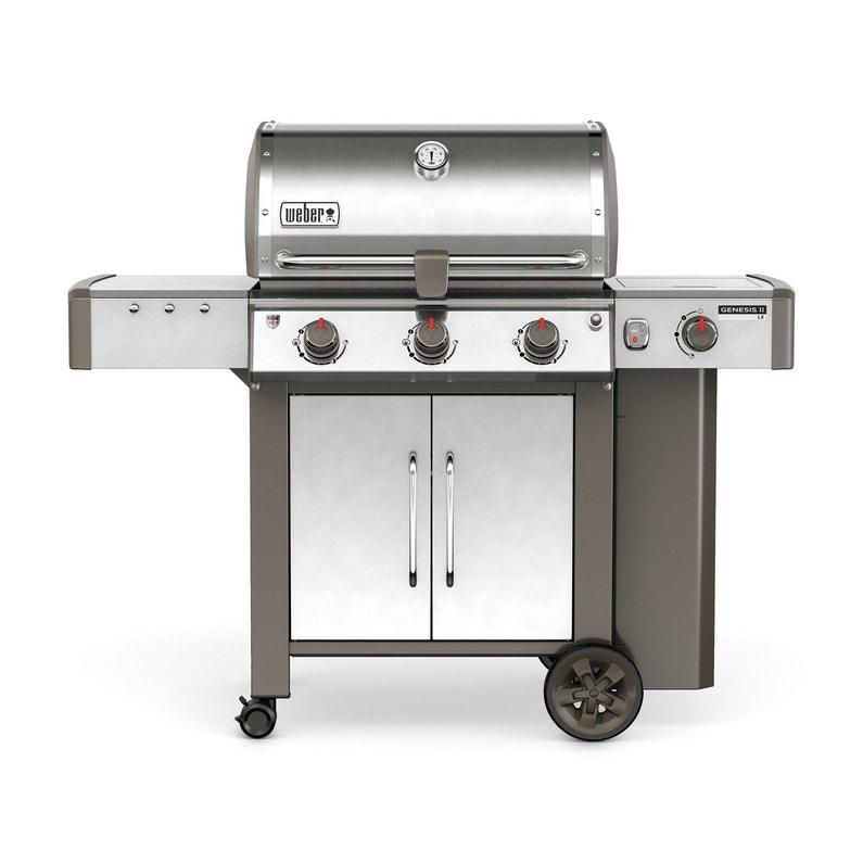 Barbecue Au Gaz Weber Genesis 2 S340 Inox Leroy Merlin