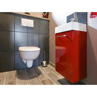 Pack WC suspendu bâti sol, SENSEA Neo 3 | Leroy Merlin