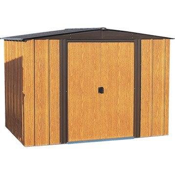 Abri de jardin en métal Woodlake 1010, 8.50 m², ép. 22 mm