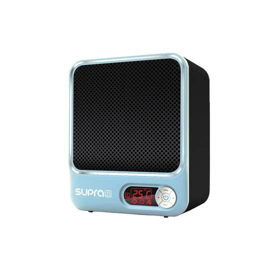 Radiateur Soufflant Consommation dedans soufflant céramique mobile électrique supra ceram digital 1522 bleu