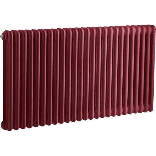 radiateur chauffage central tesi rouge cm 1515 w leroy merlin. Black Bedroom Furniture Sets. Home Design Ideas