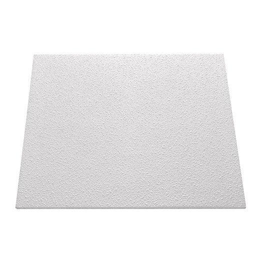 Dalle de plafond t 148 50 x 50 cm p 10 mm polystyr ne expans lot de 2m leroy merlin - Polystyrene expanse leroy merlin ...