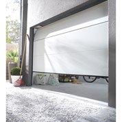 Porte de garage sectionnelle motorisée Palma, rainures horizontales, 200 x 240cm