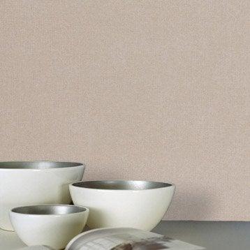 Papier peint vinyle sur intissé INSPIRE Uni, gris doré n°5, larg. 0.53 m