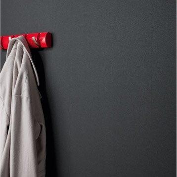 Papier peint intissé Lisse mat noir