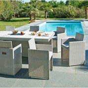 salon de jardin table et chaise mobilier de jardin leroy merlin. Black Bedroom Furniture Sets. Home Design Ideas