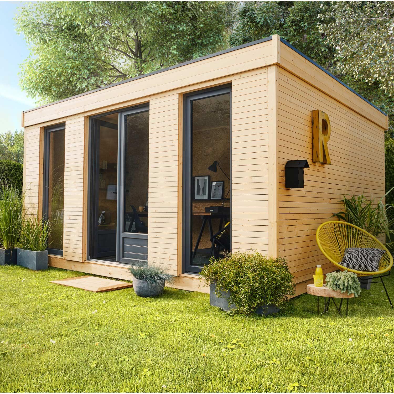 Abri De Jardin Bois Decor Home 1525 M Ep90 Mm