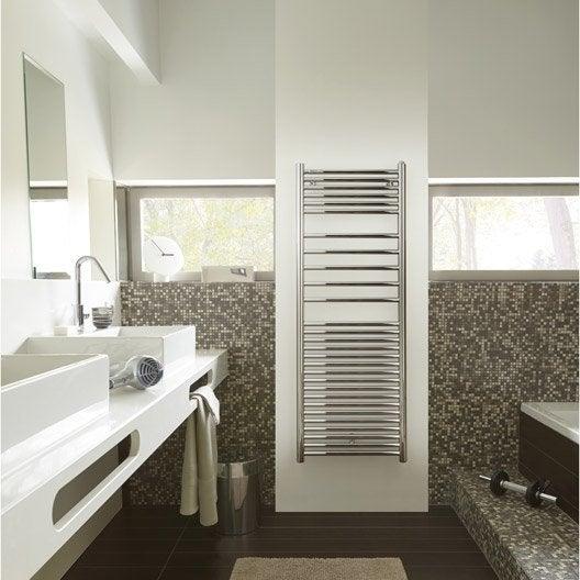 Seche serviette mixte leroy merlin simple amazing seche for Radiateur salle de bain castorama