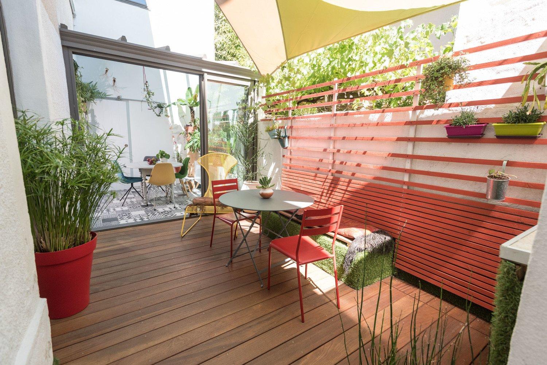 La terrasse ombragée de Julia à Valence | Leroy Merlin