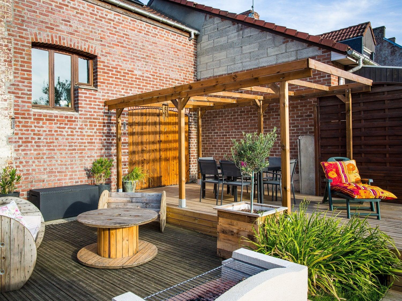 Terrasse jardin am nagement ext rieur et piscine leroy merlin - Jardin des crayeres menu ...