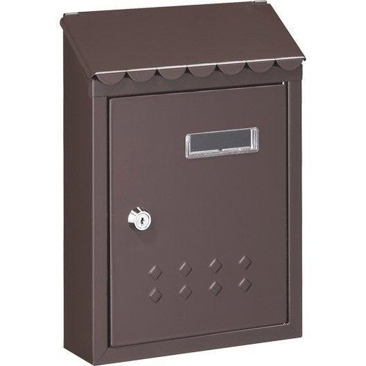 bo te aux lettres normalis e collective barillet au. Black Bedroom Furniture Sets. Home Design Ideas