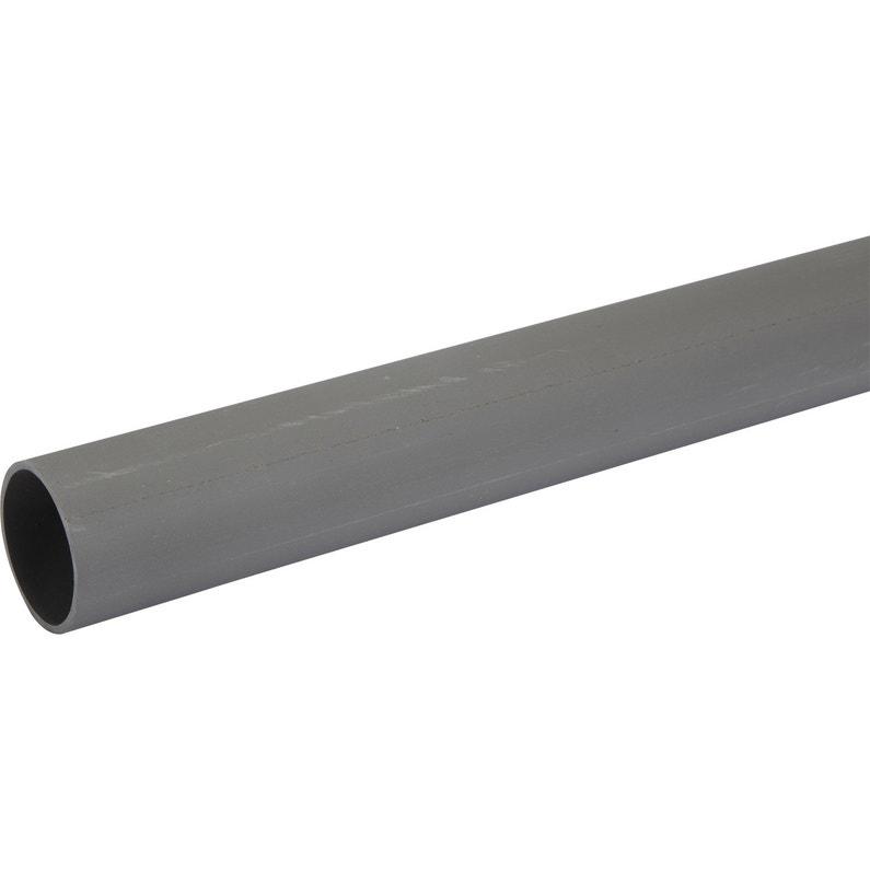 Tube Dévacuation Pvc Diam40 Mm L1 M
