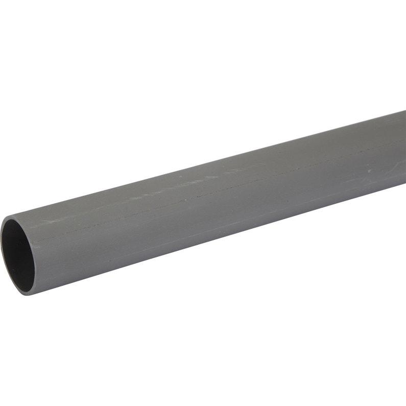 Tube D évacuation Pvc Diam 40 Mm L 4 M