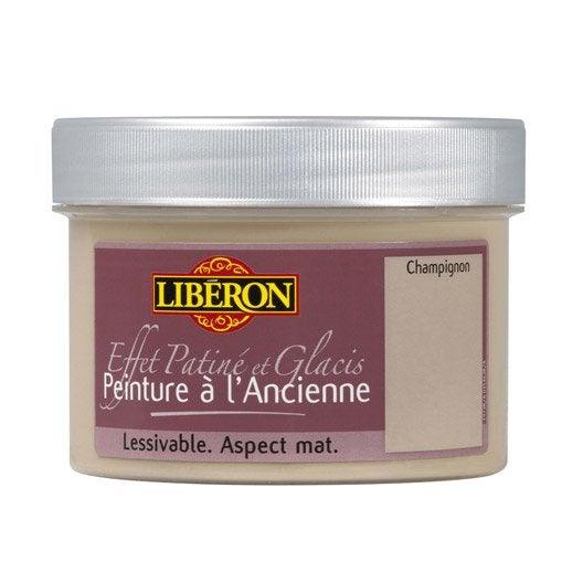 Peinture l 39 ancienne liberon champignon 250 ml leroy merlin - Peinture liberon leroy merlin ...