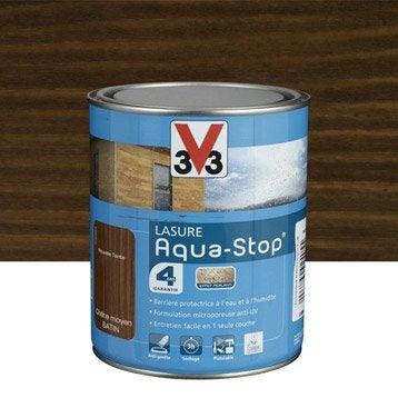 Lasure aquastop v33 ch ne moyen aspect satin 1 l - Peinture aquastop v33 ...