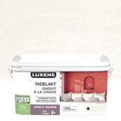 Peinture à effet, Tadelakt LUXENS, blanc calcaire 3, 5 l