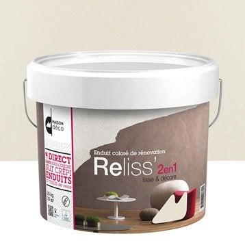 Enduit décoratif, Reliss 2 en 1 MAISON DECO, laine, 15 kg