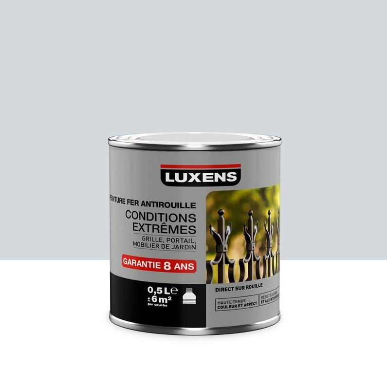 Peinture Fer Extérieur Antirouille Luxens Gris Lumière 05 L