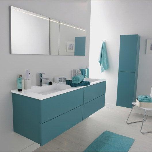 Pose de meuble de salle de bains pr mont largeur min 91 - Leroy merlin miroir salle de bain eclairant ...