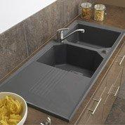 Pose en neuf d'un évier et de son robinet