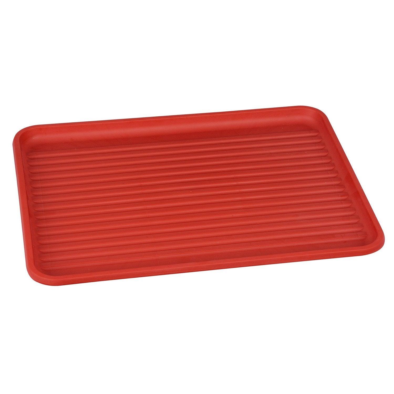 Egouttoir plastique rouge-rouge n°3   Leroy Merlin