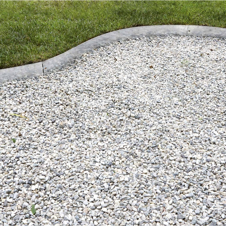 Bordure à Planter Metal Acier Galvanisé Gris H125 X L118 Cm