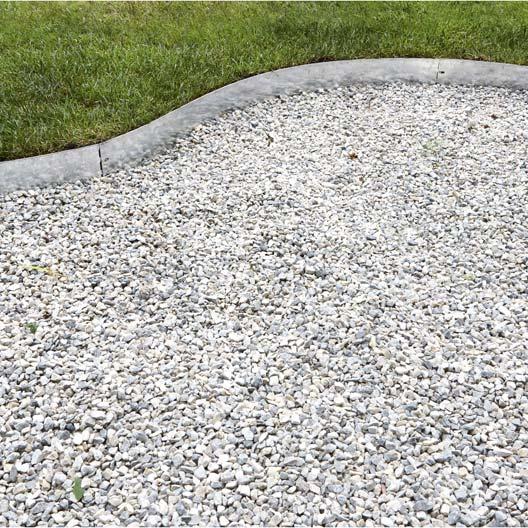 Bordure planter metal acier galvanis gris x cm leroy merlin - Leroy merlin en belgique ...