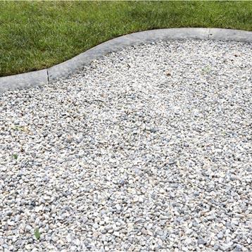Bordure de jardin bois b ton plastique pierre acier for Bordure metal pour jardin