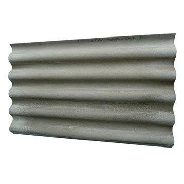 Plaque ondulé fibrociment gris CALLIBO Calliprofil l.0.92 x L.1.52 m