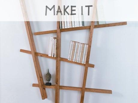 Diy fabriquer une tag re partir de tasseaux leroy merlin - Leroy merlin etagere bois ...