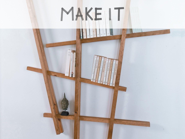 Fabriquer etagere en bois fashion designs for Construire une etagere en bois