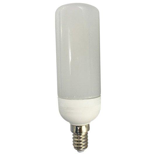 ampoule tube led 9 5w 1055lm equiv 75w e14 4000k lexman leroy merlin. Black Bedroom Furniture Sets. Home Design Ideas