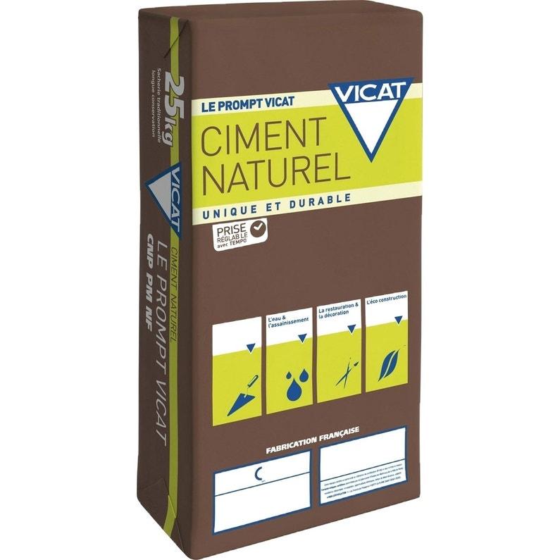 Ciment Gris Prise Rapide 25 Kg