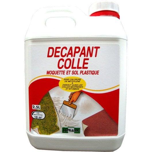 D capant colle moquette et sol pvc 2 5 l couvre 17 5 m leroy merlin - Enlever colle moquette ...