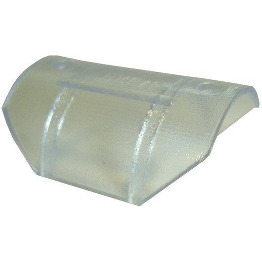 Glisseurs tringle rideau design 28 mm plastique transparent leroy merlin - Tringle a rideau design ...