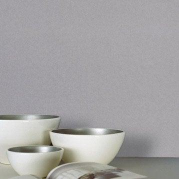 papier peint vinyle sur intiss inspire uni gris gris n 3 larg m. Black Bedroom Furniture Sets. Home Design Ideas