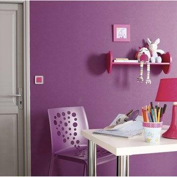 Papier peint intissé Lisse mat violet