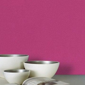 Papier peint intissé Lisse mat rose