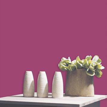 Papier peint expansé sur intissé Uni paillette, rose, larg. 0.53 m