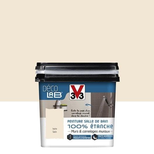 peinture d colab 100 tanche v33 ivoire leroy. Black Bedroom Furniture Sets. Home Design Ideas