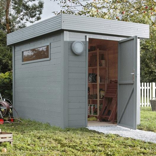 Pose d\'un abri de jardin jusqu\'à 10 m² | Leroy Merlin