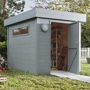 Pose d'un abri de jardin jusqu'à 10 m² par Leroy Merlin