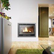 Pose d'une cheminée insert ou foyer