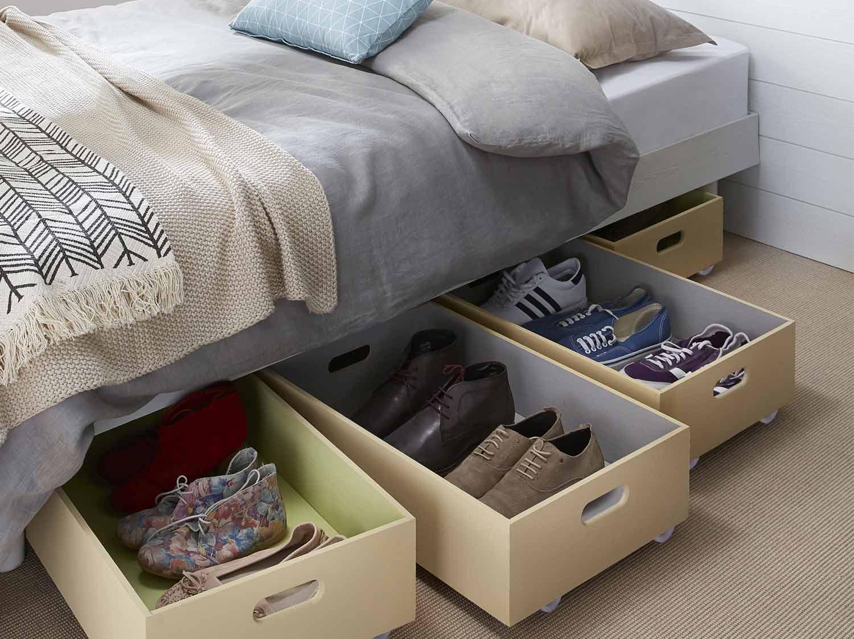 Les produits les conseils et les id es pour le bricolage - Astuces pour ranger les chaussures ...