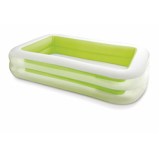 Piscine hors sol autoportante gonflable intex l x l for Piscine gonflable rectangulaire