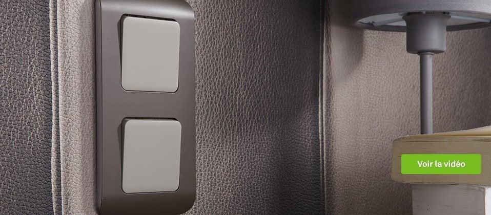 interrupteur et prise encastrables leroy merlin. Black Bedroom Furniture Sets. Home Design Ideas
