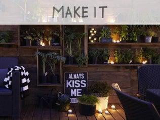 DIY : Créer des étagères en bois pour les plantes